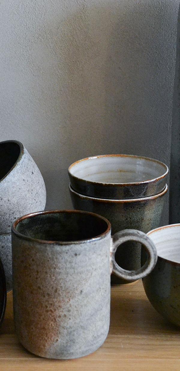 soldes, sélection de mugs & bols en céramique à -30%, grès, porcelaine, faïence, café, thé, nous paris
