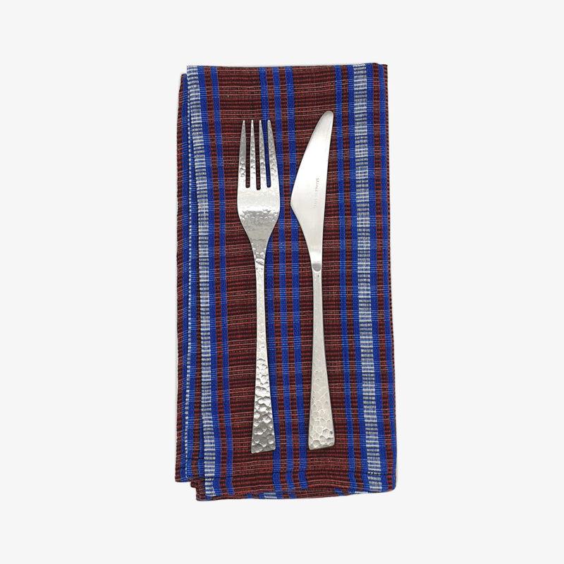 Tensira-serviettes-de-table-madras-bordeaux-bleu-v1