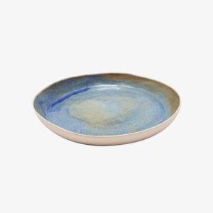 nous paris margot lhomme assiette creuse en gres bleu