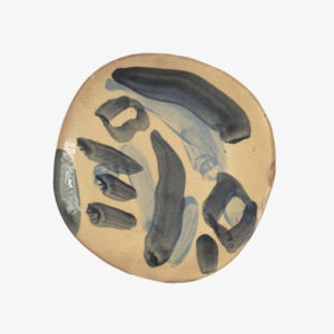 nous paris, petite assiette peinte a la main heloise bariol, ceramique contemporaine