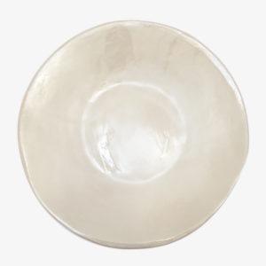 nous paris grande assiette gres blanc crème Amandine Richard
