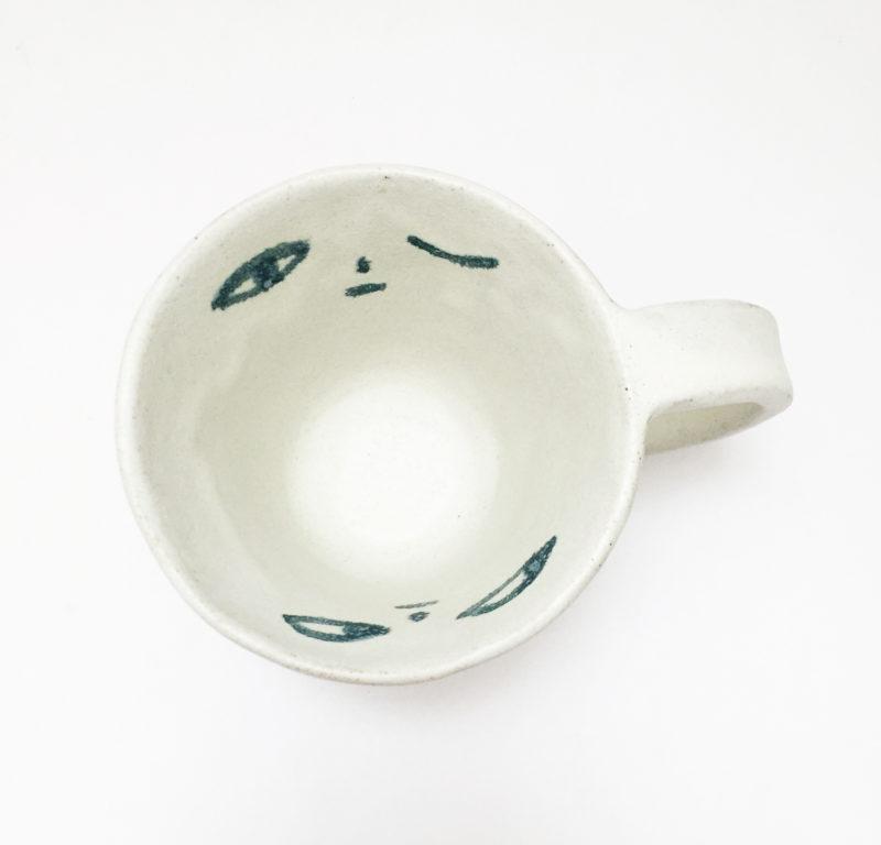 nous paris, mug en gres visage madoka rindal, ceramique contemporaine