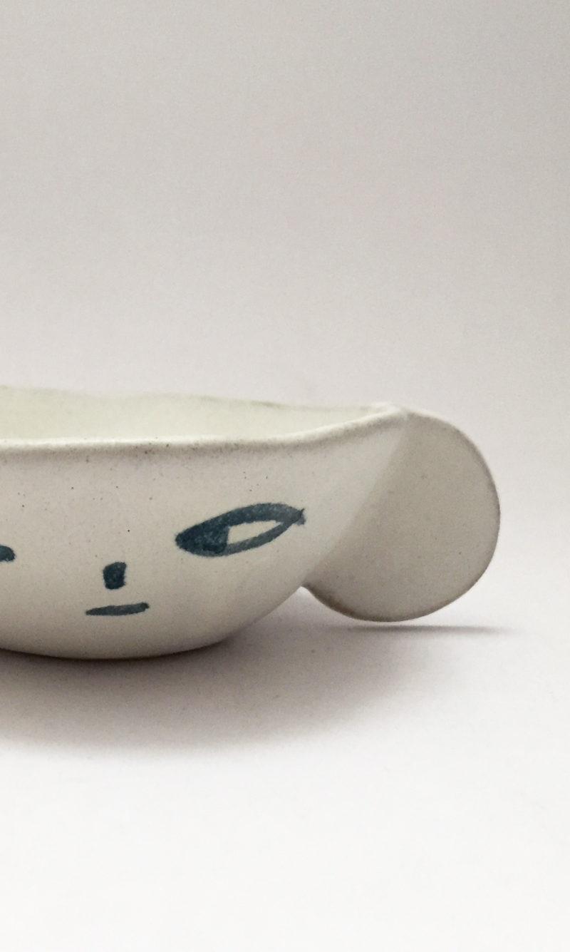 nous paris, petit bol en gres visage madoka rindal, ceramique contemporaine