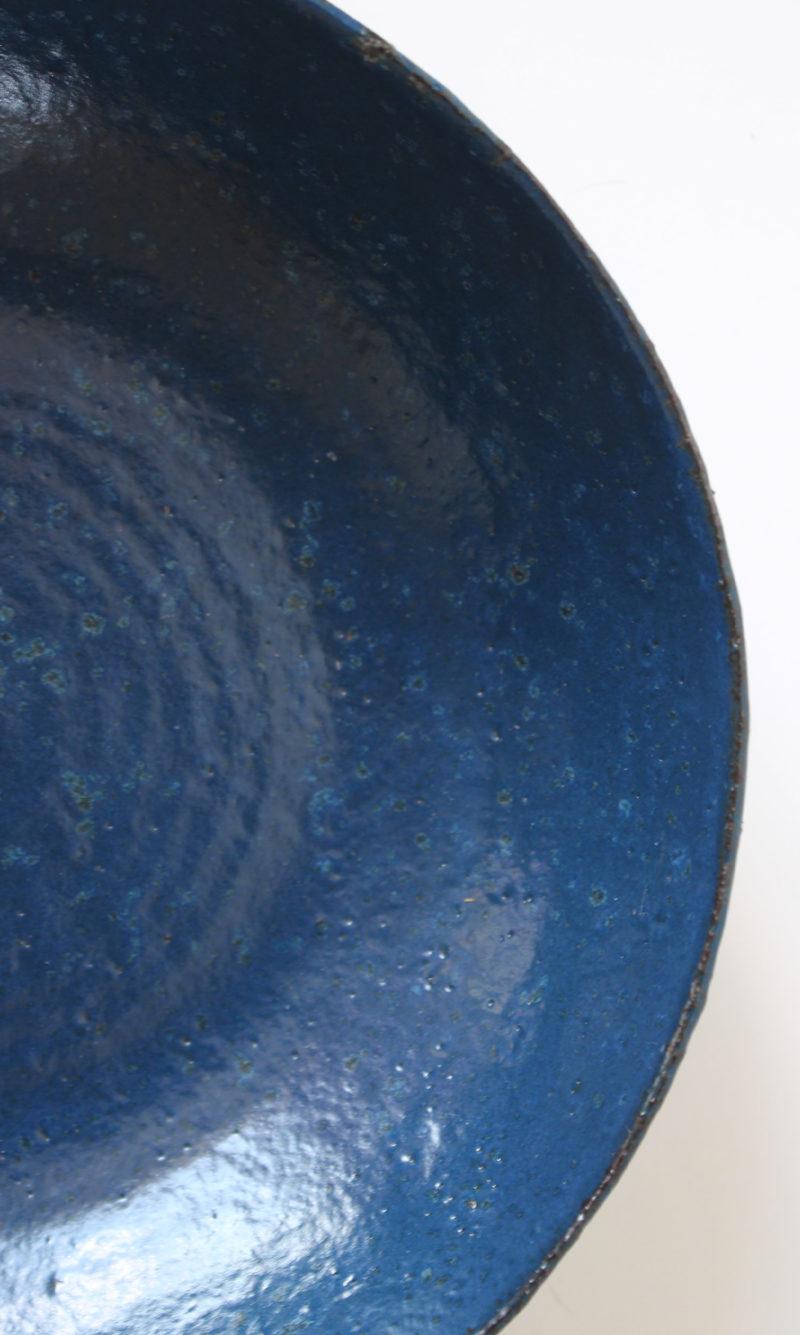 nous paris Gaëlle Le Doledec assiette creuse moyenne bleu nuit