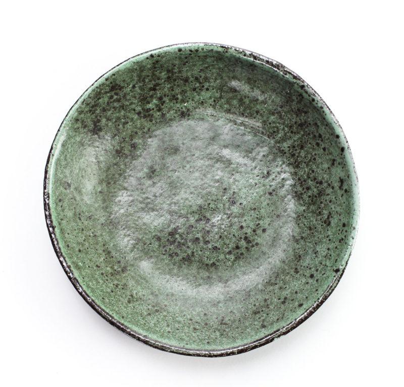 nous paris Gaëlle Le Doledec assiette creuse moyenne vert jade