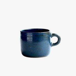 nous paris Gaëlle Le Doledec petit mug grès bleu