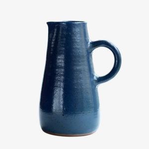 nous paris gaelle le doledec pichet en ceramique bleu