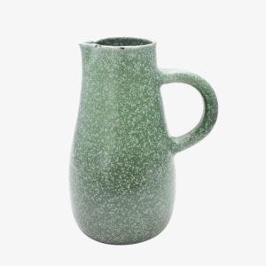 nous paris Gaëlle Le Doledec pichet grès vert jade