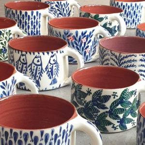 Mug ceramique grec sifnos lembesis
