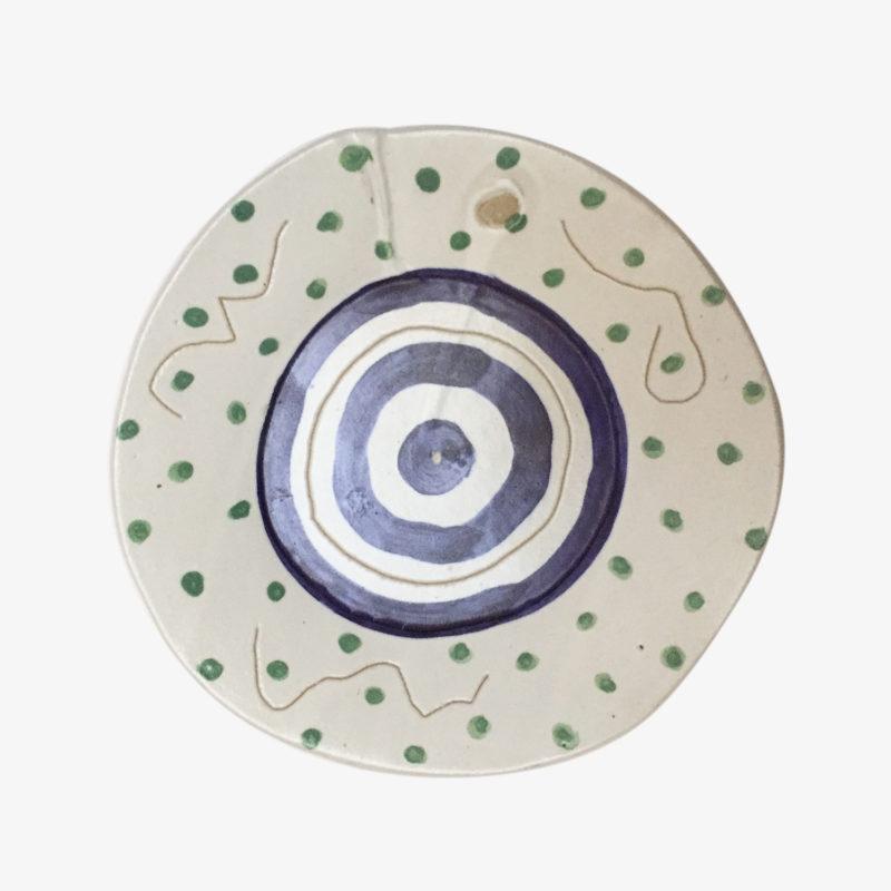 Quentin-Marais-assiette-pois-en-gres-peint-a-la-main-multicolore-v1