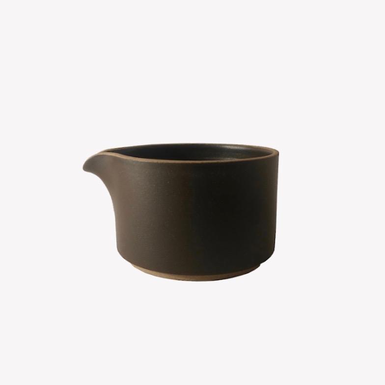 nous paris Pot à lait noir Hasami Porcelain