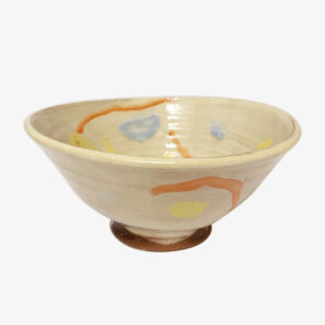 nous paris grand bol a ramen peint a la main Heloise Bariol terre vernissee ceramique contemporaine