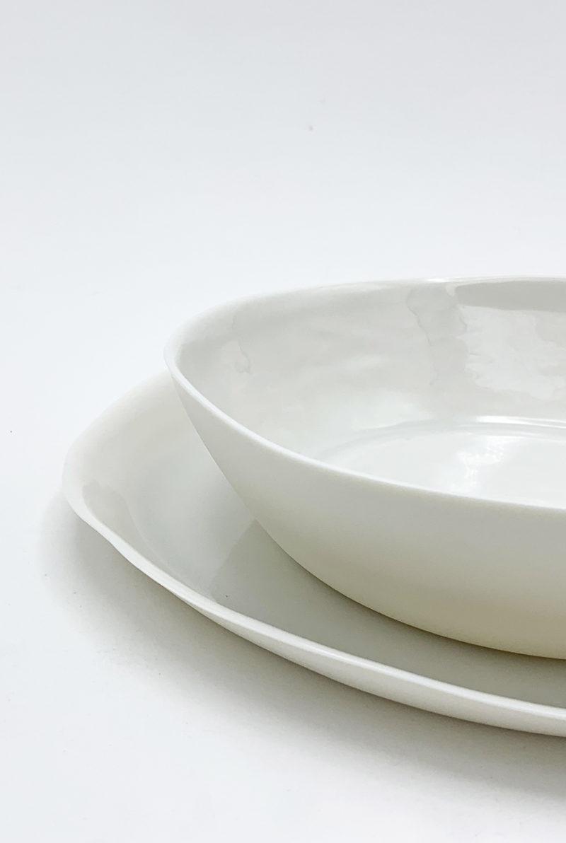 Marie Laurent assiette creuse porcelaine artisan