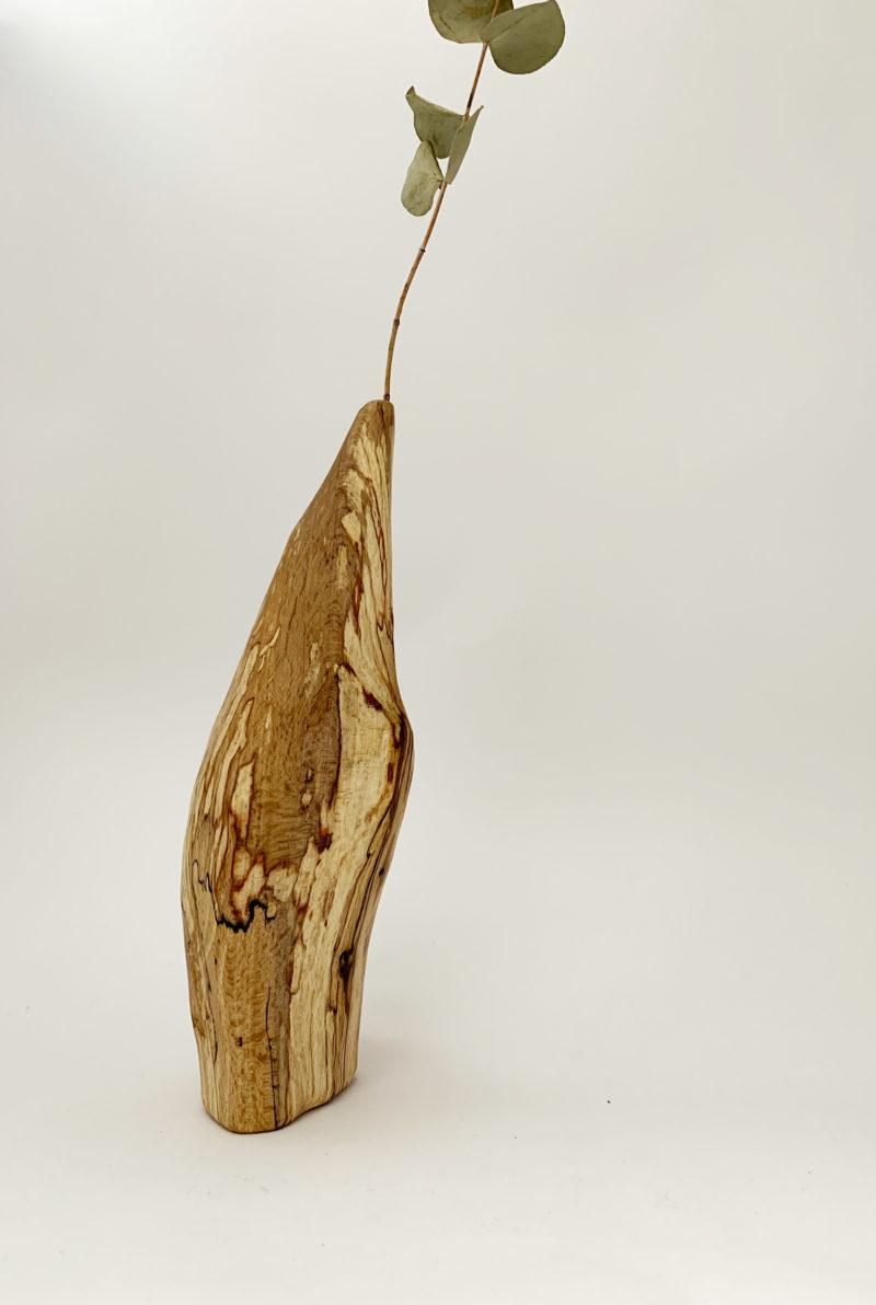 nous paris Sepa Soliflore bois de hêtre pièce unique
