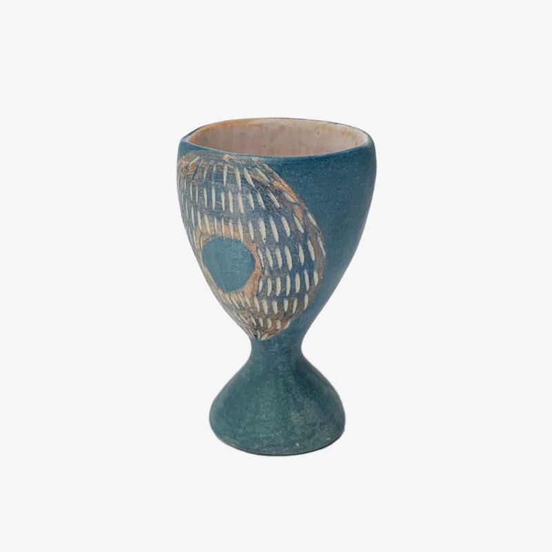Vincent-Verde-tasse-Mazagran-bleu-ronds-roses-v1
