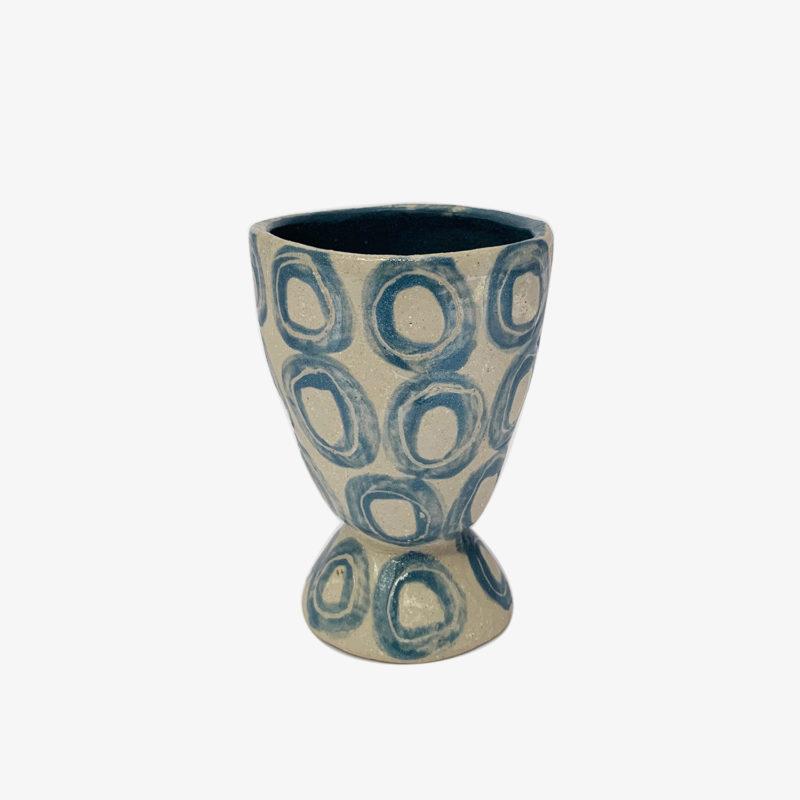 Vincent-Verde-tasse-Mazagran-ecru-ronds-bleus-v1