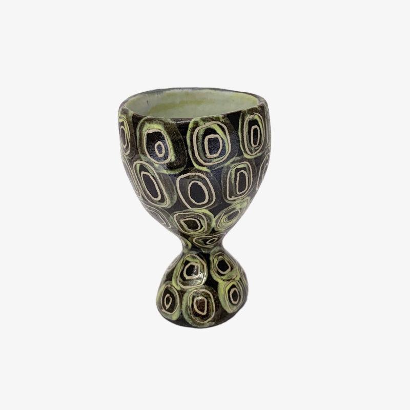 Vincent-Verde-tasse-Mazagran-noir-ronds-verts-v1
