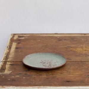 Gaelle le doledec soucoupe ceramique verte