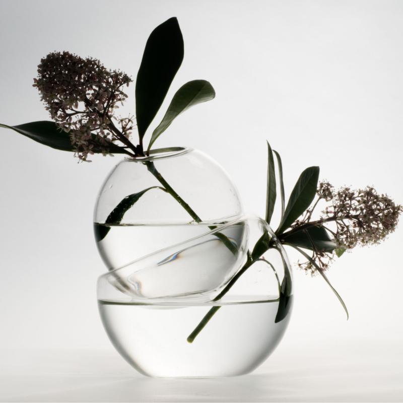 Laurence Brabant Vases inséparables