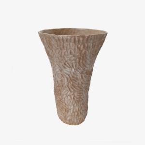 nous Paris Lucile Boudier Vase gravé grès brun