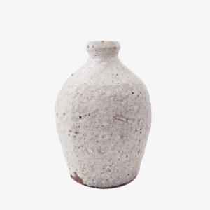 nous Paris Benoit Audureau vase bouteille blanc mat terre du Aizenay