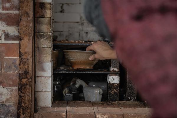 Les Grands Feux la borne ceramique contemporaine cuisson au bois