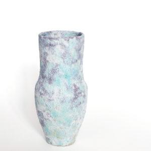 Vase japonais en gres motoko saigo