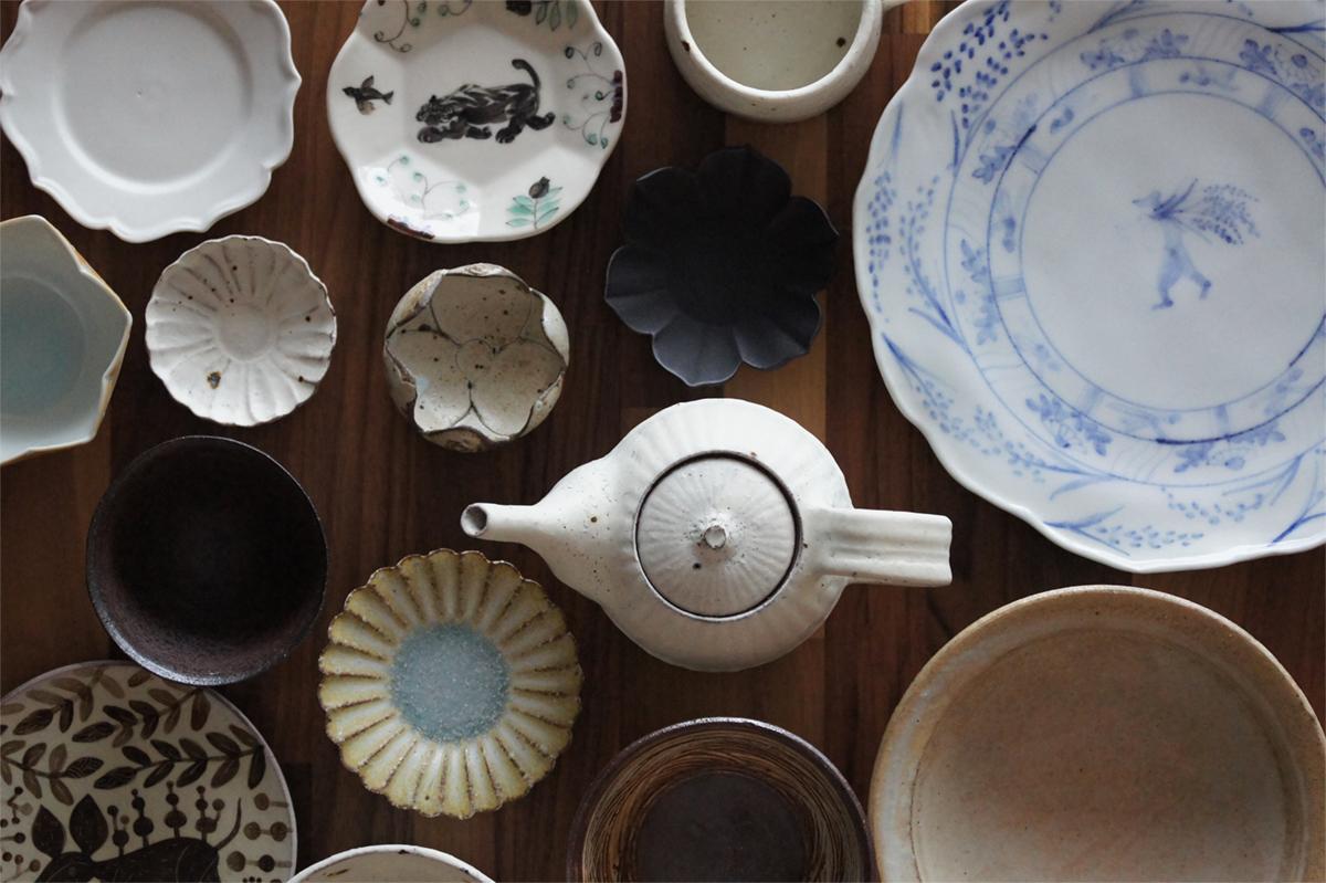 Assiette akiko tanino pour expo ceramique du japon