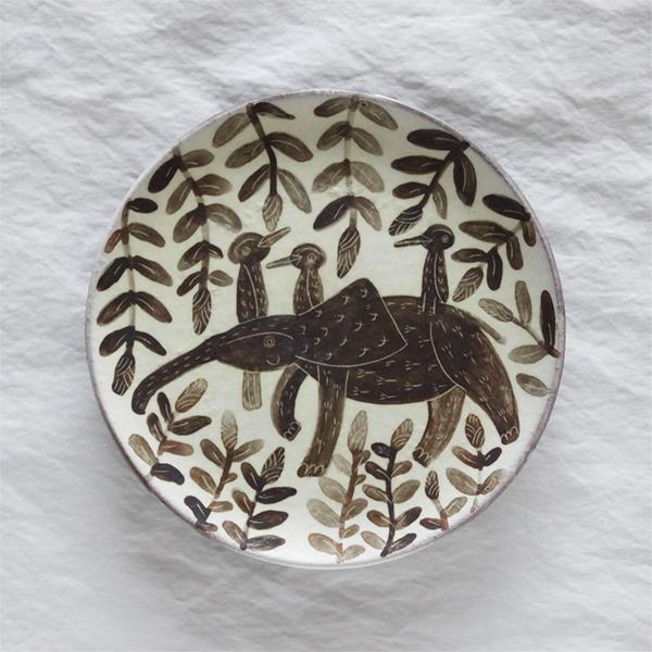 Petite assiette expo ceramique japonaise