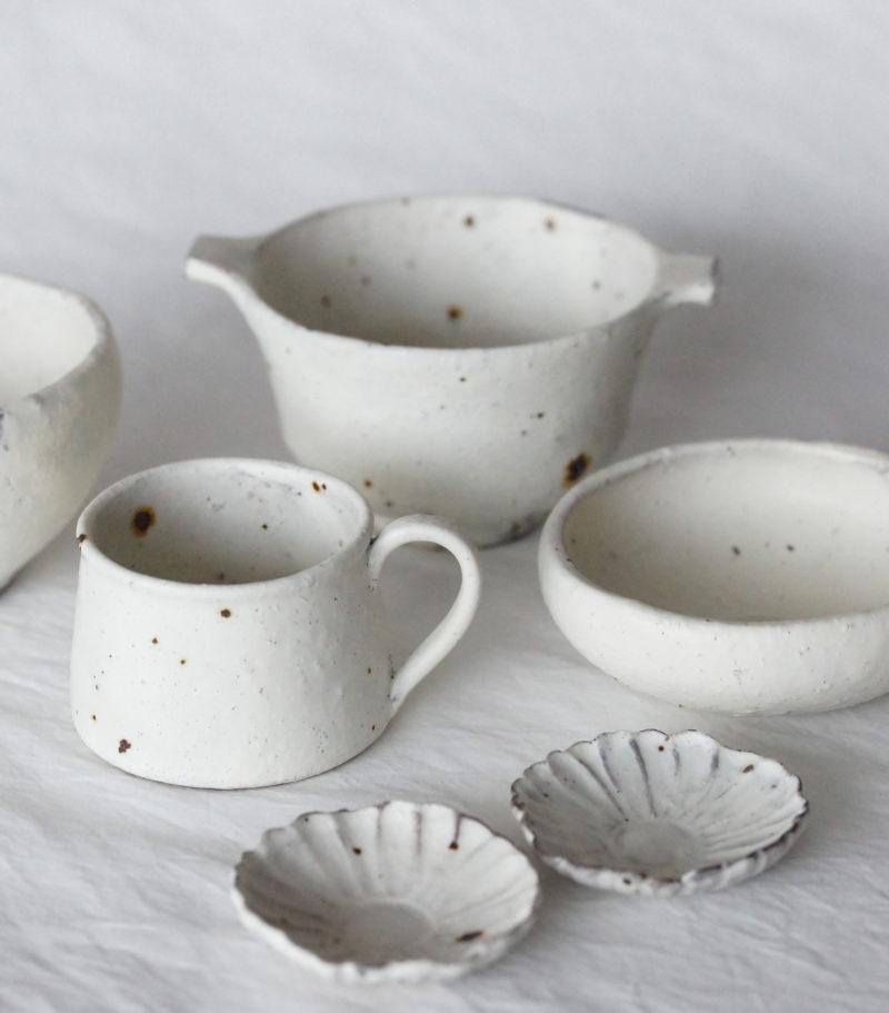 Bol à oreilles ceramique japonaise