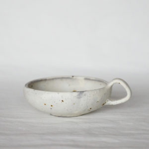 tasse a thé basse style vintage ceramique japonaise