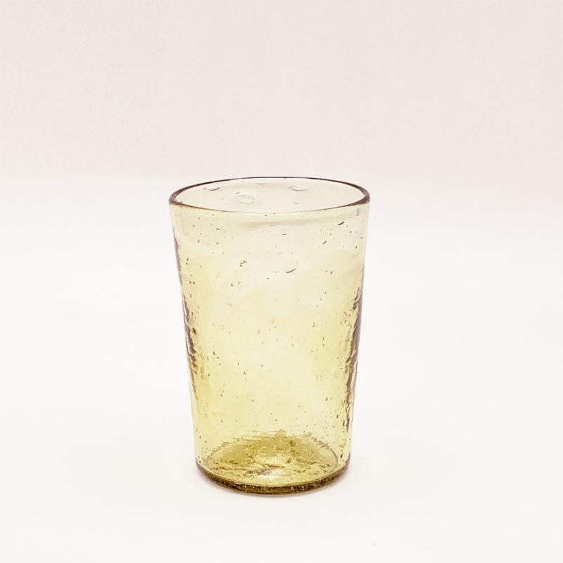 Salaheddin-verre-syrien-gobelet-evase-ambre-v1
