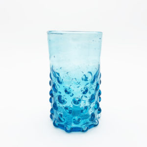 Salaheddin verre syrien souffle bouche turquoise