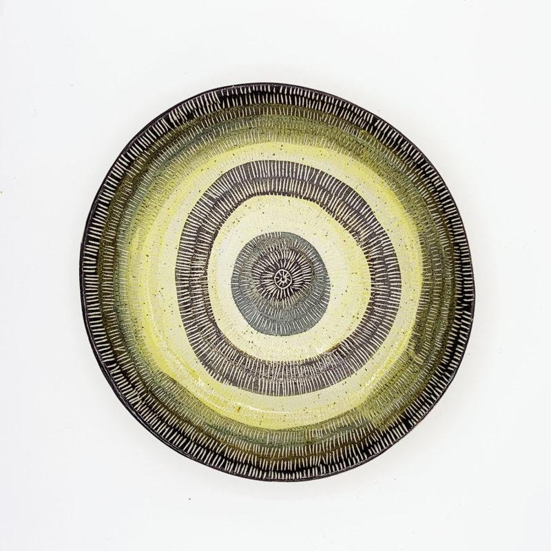 Vincent-verde-Grande-assiette-creuse-jaune-stries-v1