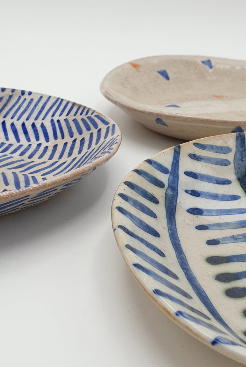 Petite assiette en ceramique fait main Lea Brodiez