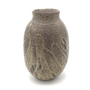 Catherine Algoet grand vase grès noir