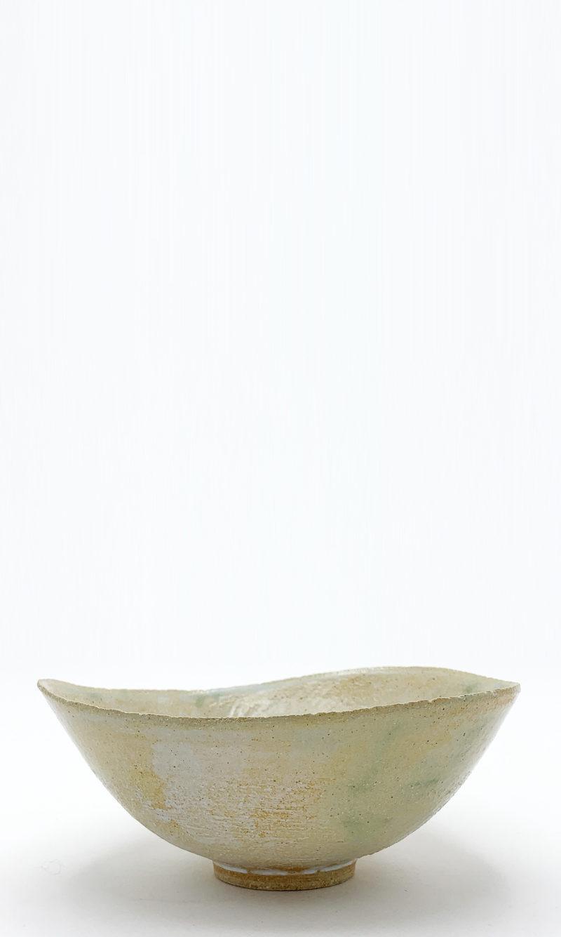 Mami Kanno bol japonais en gres ceramique japonaise émail vert