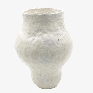 nous paris lucile boudier grand vase en gres blanc
