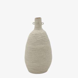 Ema Girardot ceramique japonaise bouteille en gres mini colombins