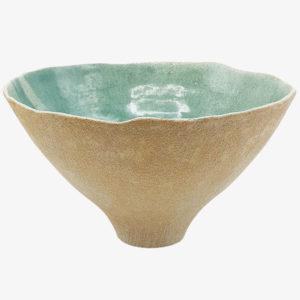 Ema Girardot ceramique japonaise saladier en gres rose