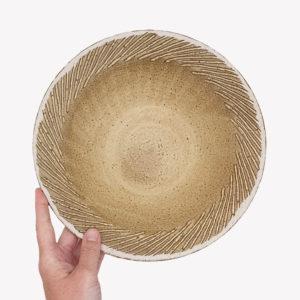 Ema Girardot ceramique japonaise saladier en gres