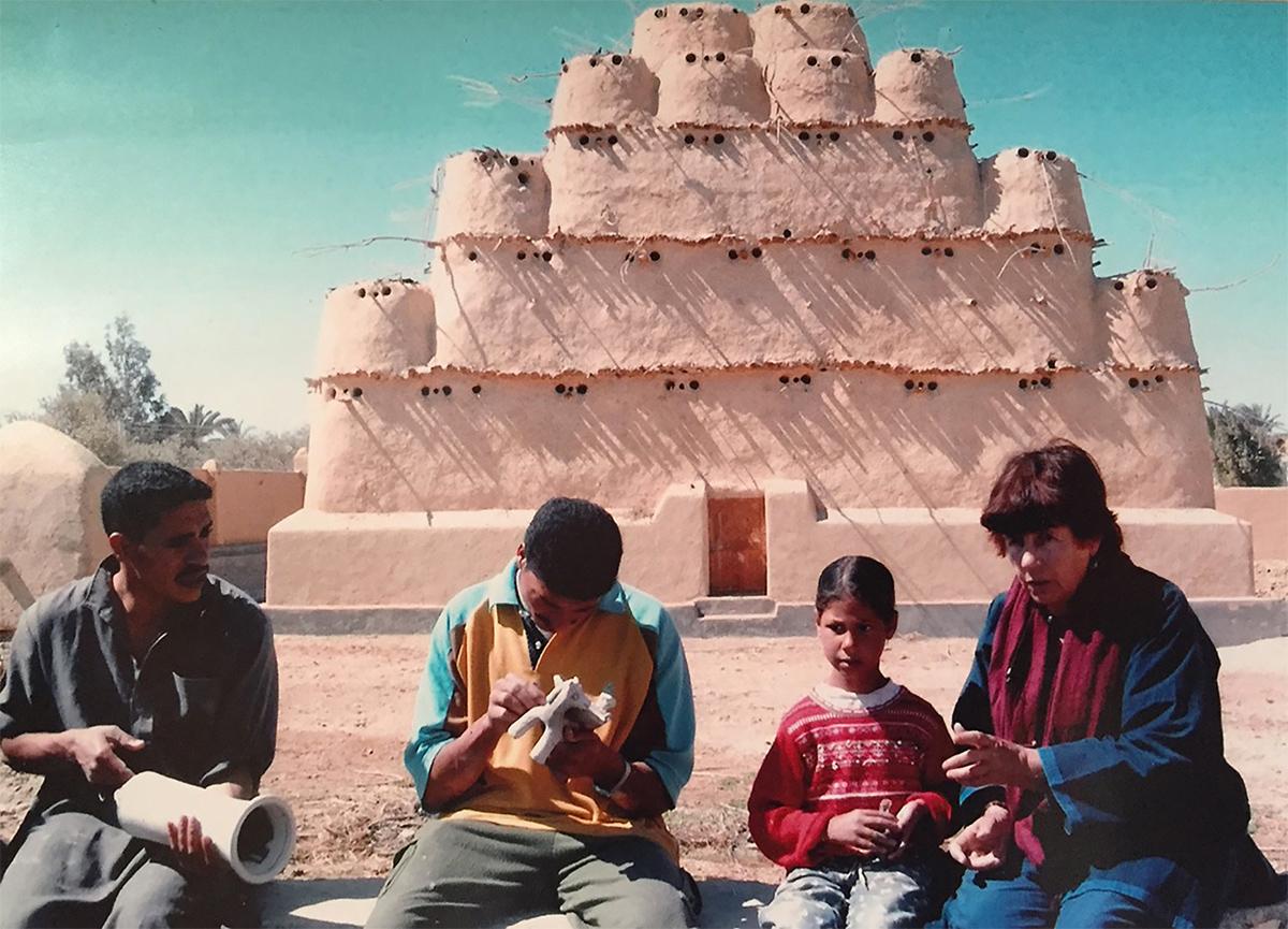 nous paris expo ecole de poteries du Fayoum